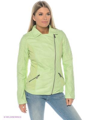 Куртка Cars Jeans. Цвет: светло-зеленый