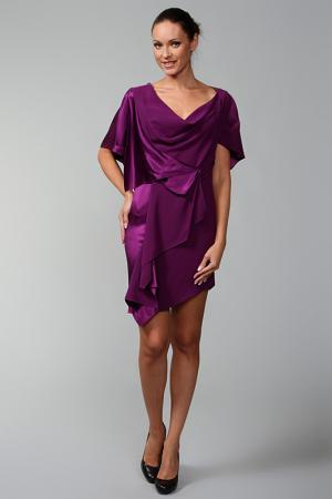 Платье Malandrino. Цвет: фиолетовый