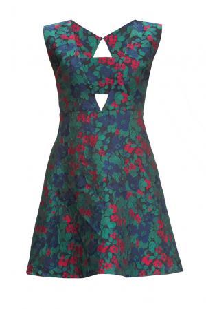 Платье 155675 Laroom. Цвет: разноцветный