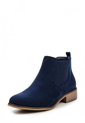 Ботинки Dorothy Perkins. Цвет: синий