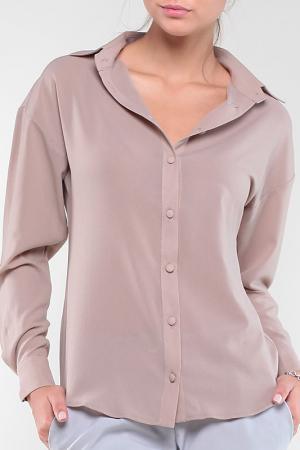 Блуза MAURINI. Цвет: мокко
