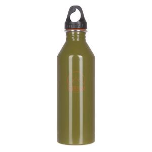 Бутылка для воды  Burton M8 800ml 1977 Glossy Green W Orange Print Mizu. Цвет: зеленый