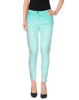 Повседневные брюки ANNARITA N.. Цвет: светло-зеленый