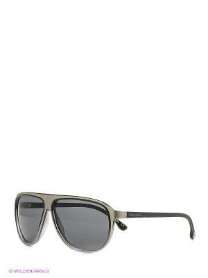 Солнцезащитные очки DL 0057 05V Diesel. Цвет: серебристый