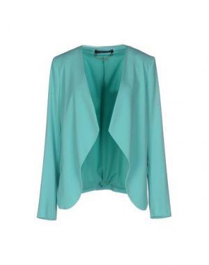 Пиджак CARLA MONTANARINI. Цвет: бирюзовый