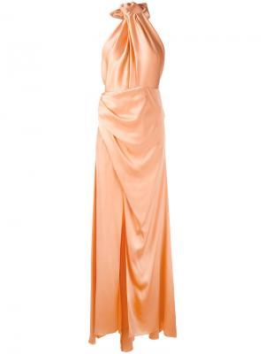 Phone dress Maria Lucia Hohan. Цвет: жёлтый и оранжевый
