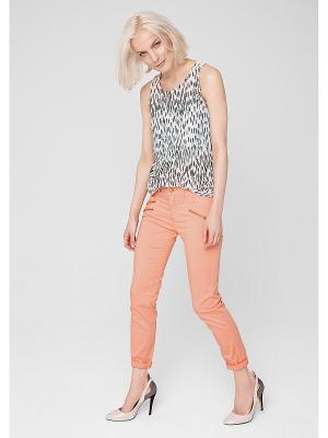 Джинсы S.OLIVER. Цвет: персиковый
