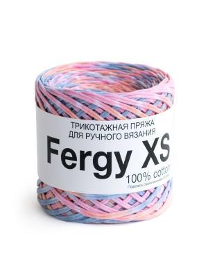 Пряжа Fergy XS. Цвет: голубой, розовый, светло-коралловый