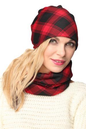 Манишка LakMiss. Цвет: красный, черный