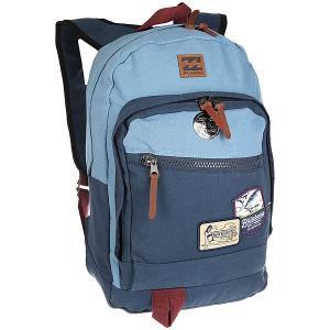Рюкзак городской  York Canvas Powder Blue Billabong. Цвет: синий,голубой