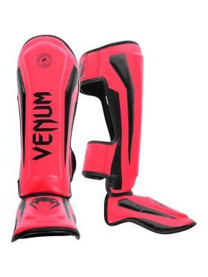 Щитки Venum Elite Neo Pink. Цвет: розовый