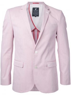 Классический пиджак Loveless. Цвет: красный