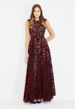 Платье Tailor Che. Цвет: бордовый