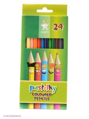 Набор карандашей (24 цвета) Koh-i-Noor. Цвет: зеленый, голубой, красный