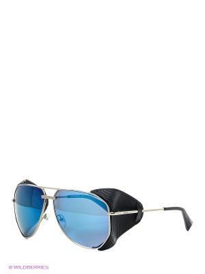 Солнцезащитные очки BLD 1619 101 Baldinini. Цвет: серебристый, синий