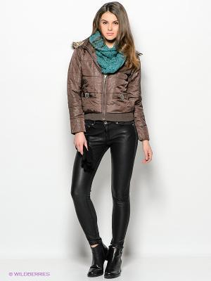 Куртка Ada Gatti. Цвет: коричневый