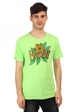 Футболка  Vintage Hawaii Lime Lost. Цвет: зеленый