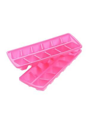 Форма для льда, 2 шт. Migura. Цвет: розовый