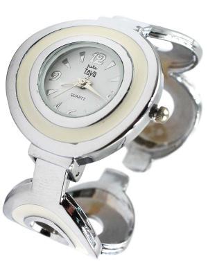 Часы Taya. Цвет: серебристый, кремовый