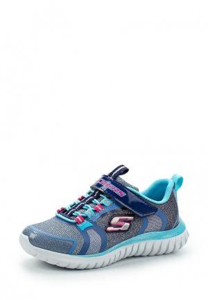 Кроссовки Skechers. Цвет: голубой