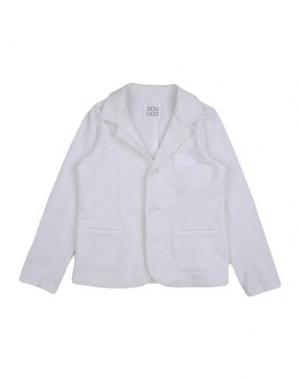 Пиджак DOUUOD. Цвет: белый