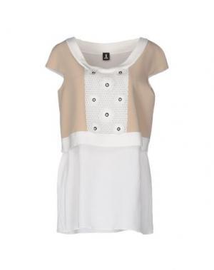 Блузка 1-ONE. Цвет: белый