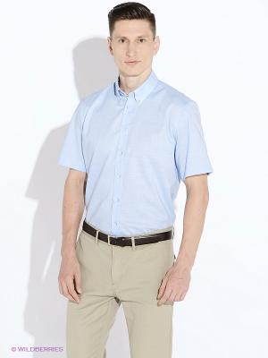 Рубашка LERROS. Цвет: голубой