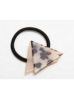 Заколка Kameo-bis. Цвет: бежевый, черный, коричневый