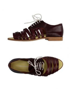 Обувь на шнурках BAND OF OUTSIDERS. Цвет: красно-коричневый