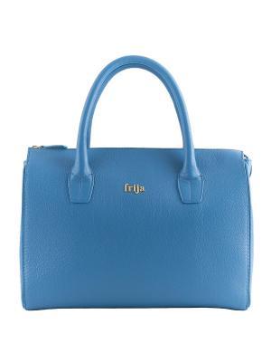 Сумка Frija. Цвет: голубой
