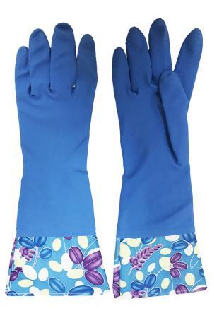 Перчатки кухонные MAGIC HOME. Цвет: синий