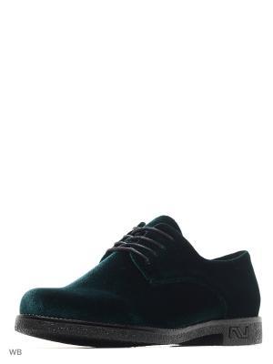 Ботинки ADMLIS. Цвет: зеленый