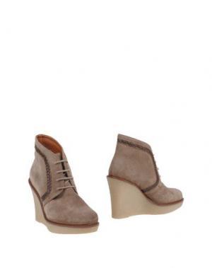 Полусапоги и высокие ботинки STEPHANE KÉLIAN. Цвет: бежевый