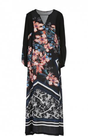 Платье Clover Canyon. Цвет: разноцветный