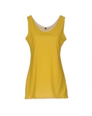 Майка ALMERIA. Цвет: желтый