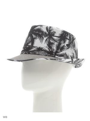 Шляпа Modis. Цвет: темно-серый, белый, черный