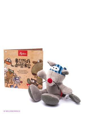 Мышь, Бандидолерос, 16 см Sigikid. Цвет: серый