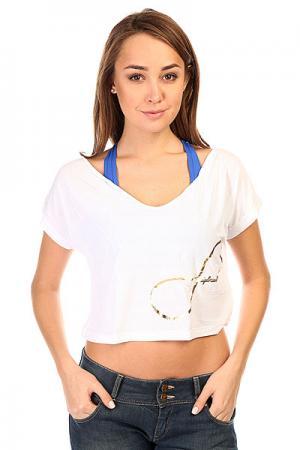 Топ женский  Croptop Supplex White CajuBrasil. Цвет: белый