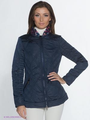 Куртка ODRI. Цвет: темно-синий