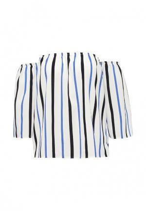 Блуза Tom Farr. Цвет: белый