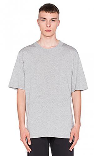 Простая футболка Wil Fry. Цвет: светло-серый