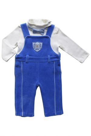 Комплект SONI KIDS. Цвет: белый, синий