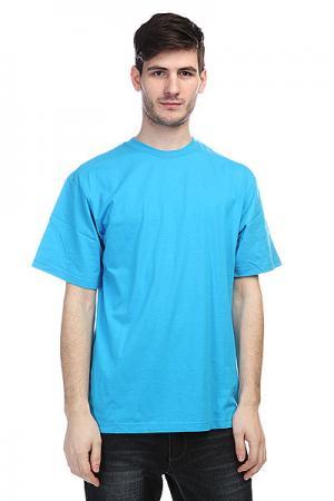 Футболка  Tall Tee Turquoise Urban Classics. Цвет: голубой