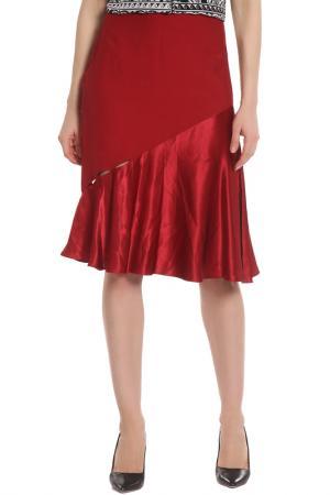 Юбка Versace. Цвет: бордовый