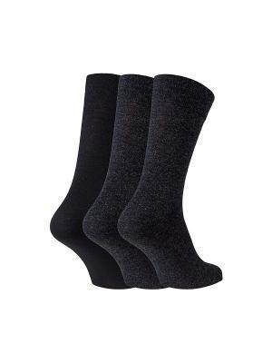 Носки ECCO. Цвет: черный, темно-серый