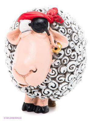 Фигурка Овца Джек Воробей The Comical World of Stratford. Цвет: серый, красный, розовый, черный