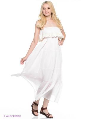 Платье Fullah Sugah. Цвет: бледно-розовый
