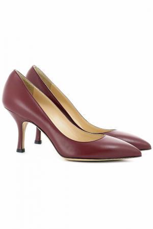 Туфли Semilla. Цвет: бордовый