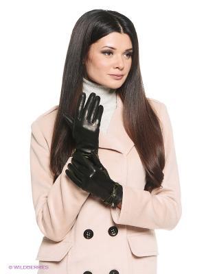 Перчатки Eleganzza. Цвет: черный, темно-зеленый