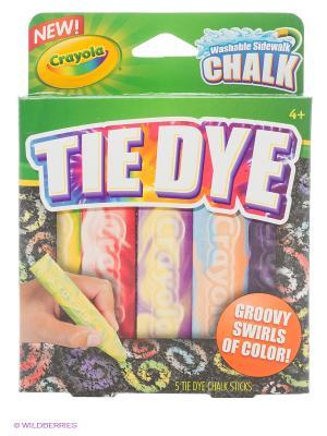 Мел для асфальта узорчатый Crayola. Цвет: зеленый
